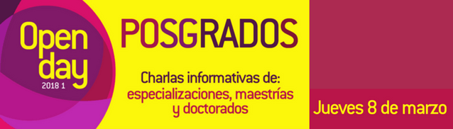 Open day de posgrados