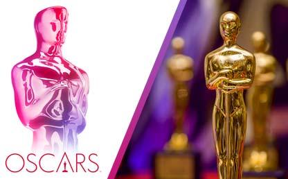 Imagen de la estatuilla que se entrega en los Oscar.