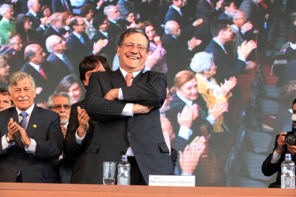 Pablo Navas, rector Uniandes