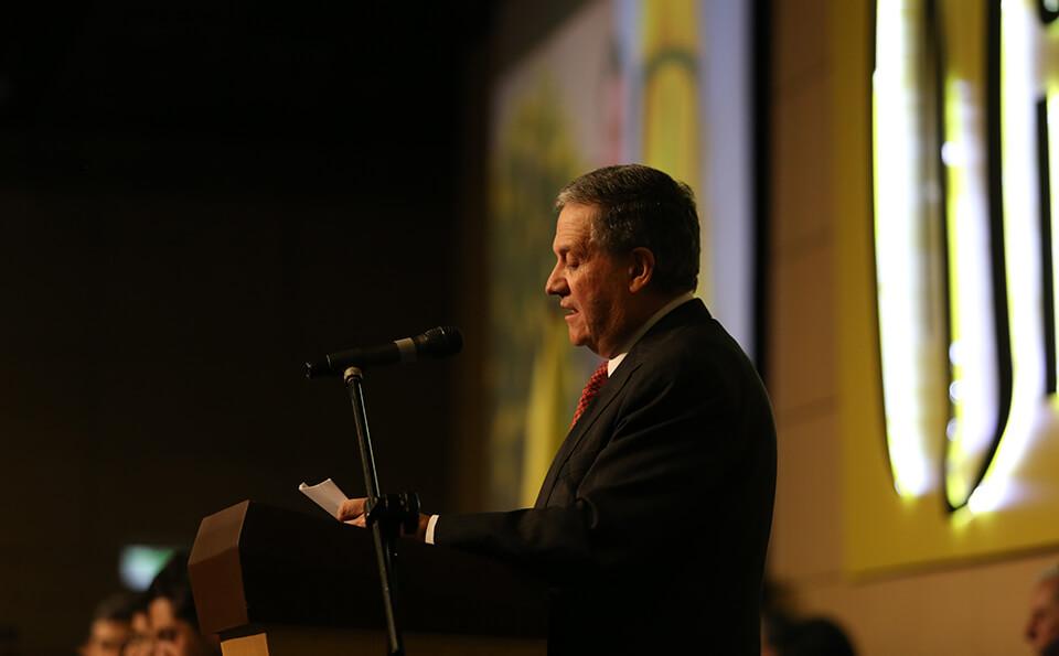 Foto Pablo Navas, Rector Universidad de los Andes