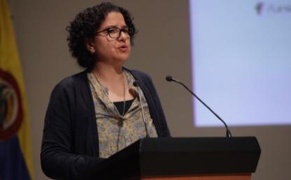 Profesora Silvia Restrepo