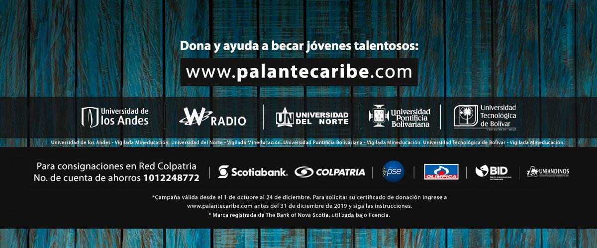 Aliados de la campaña Pa'lante Caribe
