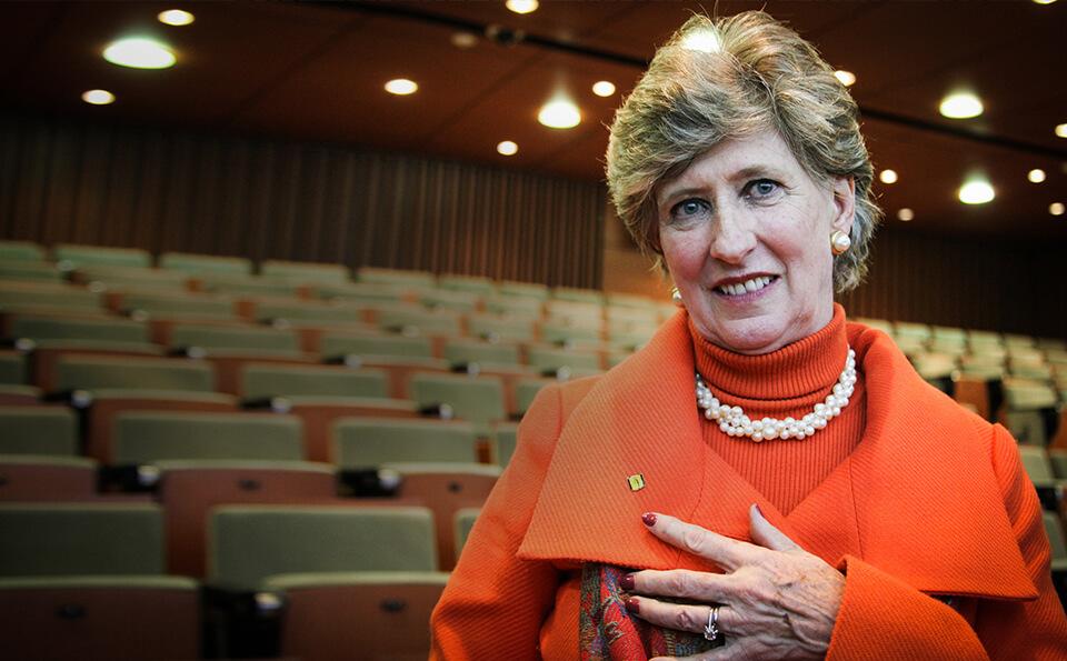Pamela Wilkie profesora departamento de lenguas y cultura ingles