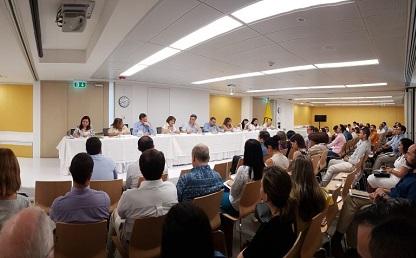 Panel de rectores en la Sede Caribe de la Universidad de los Andes