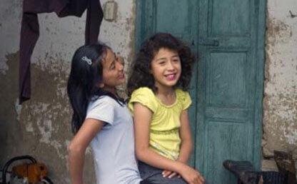Las primas Paola y Daniela, Simijaca