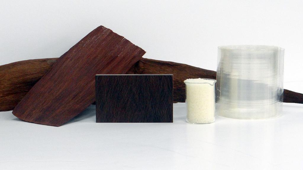 Elementos eleaborados con fibras biodegradables.