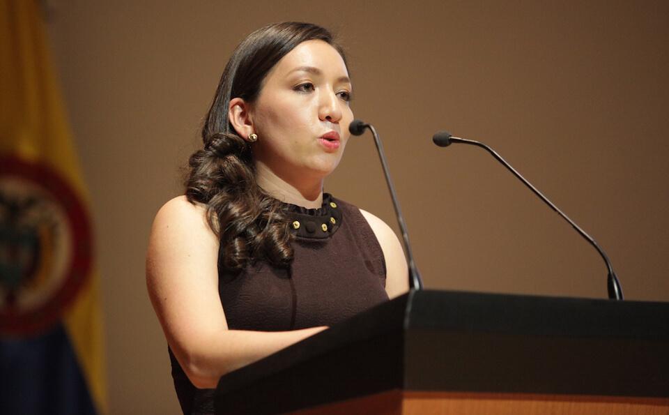 Foto Paula Mahecha Pulido, grados medicina 2015-2