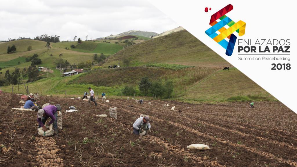Imagen de campesinos colombianos
