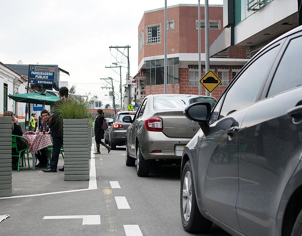 Imagen de la Carrera Primera, ya intervenida para mejorar movilidad.