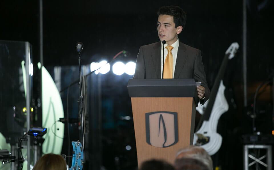 Pedro Oswaldo Hernández, beneficiario del 'Programa Quiero Estudiar'