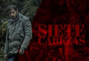 Imagen de la película colombiana Siete Cabezas. En la foto, el actor Alexánder Betancur en un fragmento de la cinta.