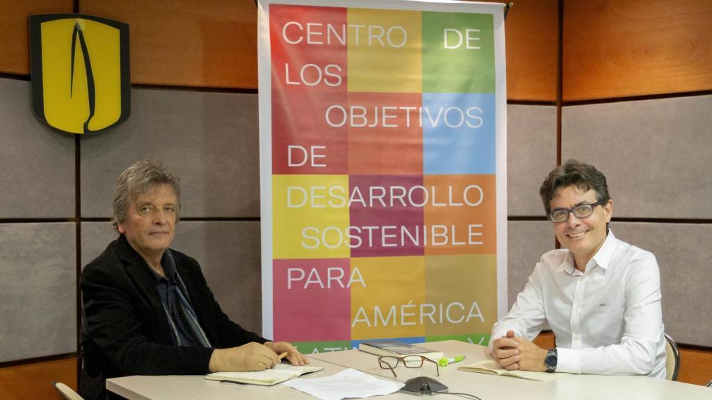 Alejandro Gaviria y Germán Andrade