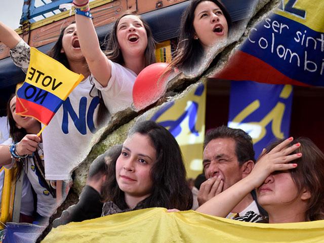 La polarización en Colombia parece un asunto de líderes divididos.