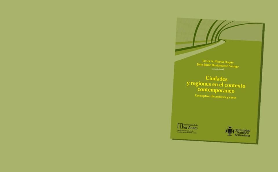portada de libro amarillo sobre ciudades y regiones