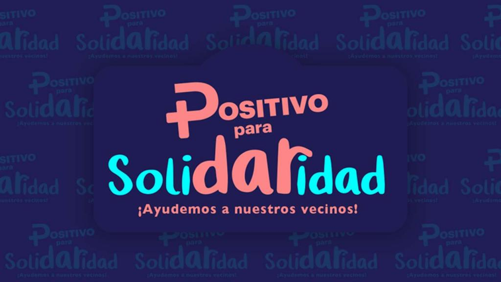 positivo para solidaridad