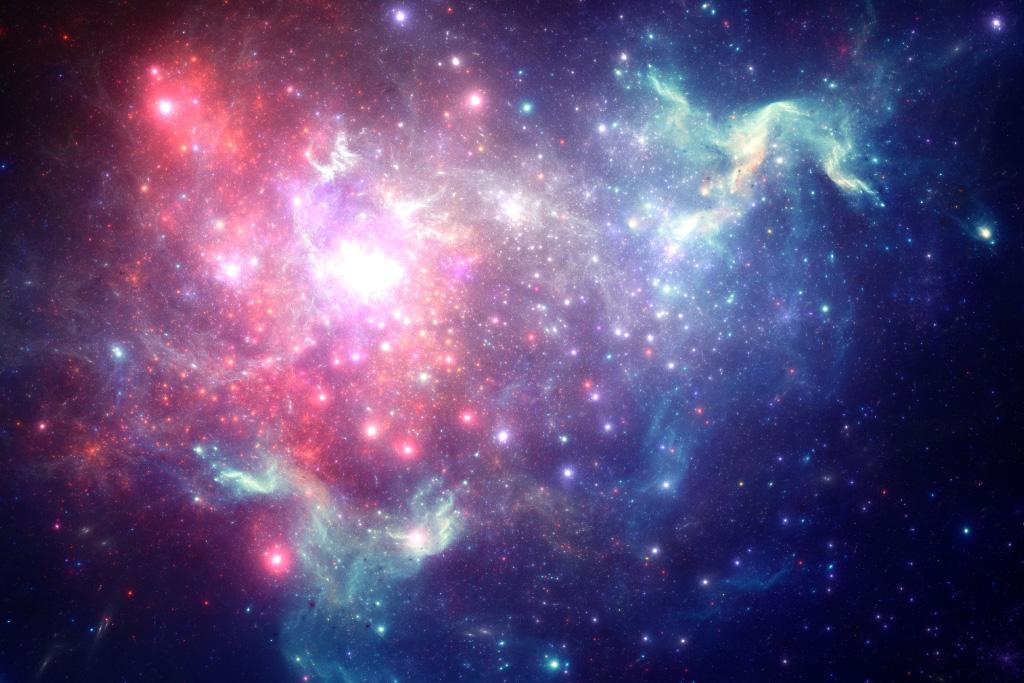 Imagen de una galaxia