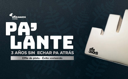 Silueta del premio Effie Awards Colombia