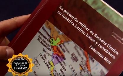 Portada libro 'La presencia militar de Estados Unidos en América Latina: bases y cuasibases'