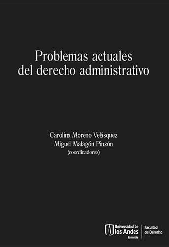 Cubierta del libro Problemas actuales del derecho administrativo