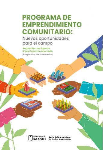 Cubierta del libro Programa de emprendimiento comunitario: nuevas oportunidades para el cambio