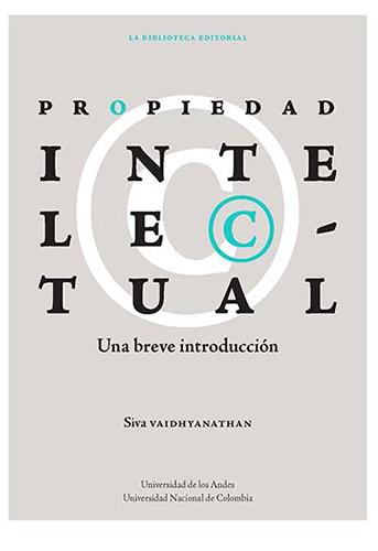Cubierta del libro Propiedad intelectual. Una breve introducción