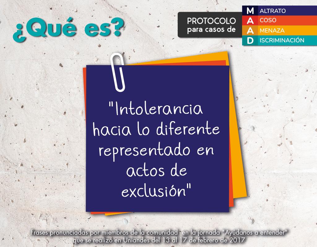Nota adhesiva sobre qué es la discriminación: