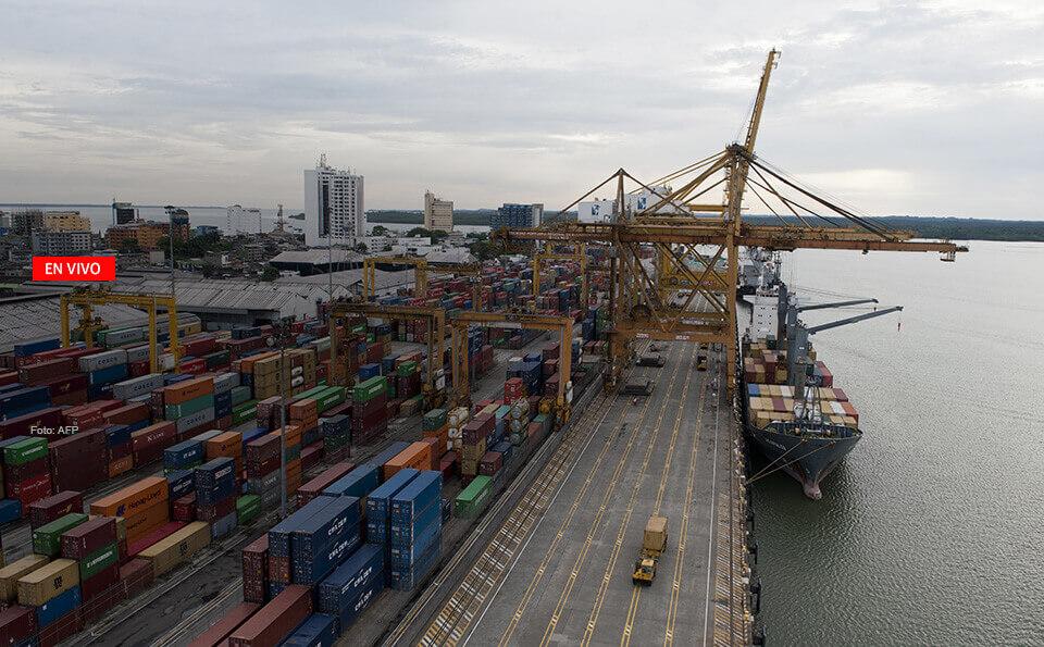 puerto marítimo colombiano