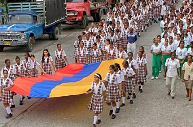Estudiantes del Pacífico colombiano.