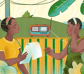 ilustración comunidad afro