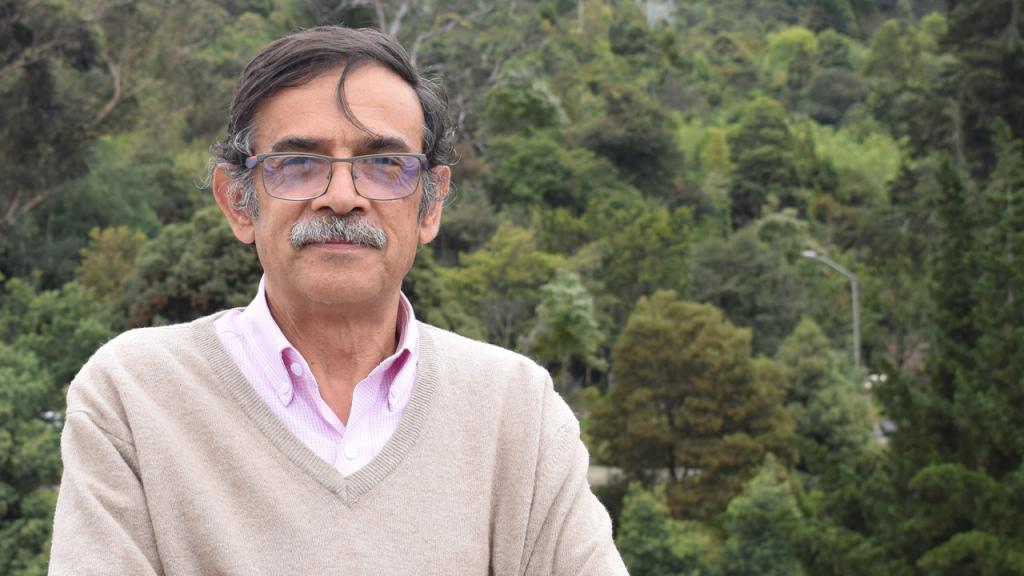 Profesor emérito José Rafael Toro