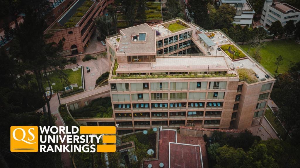 Foto del edificio de Arquitectura de Uniandes.