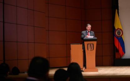 Pablo Navas, rector de la Universidad de los Andes.