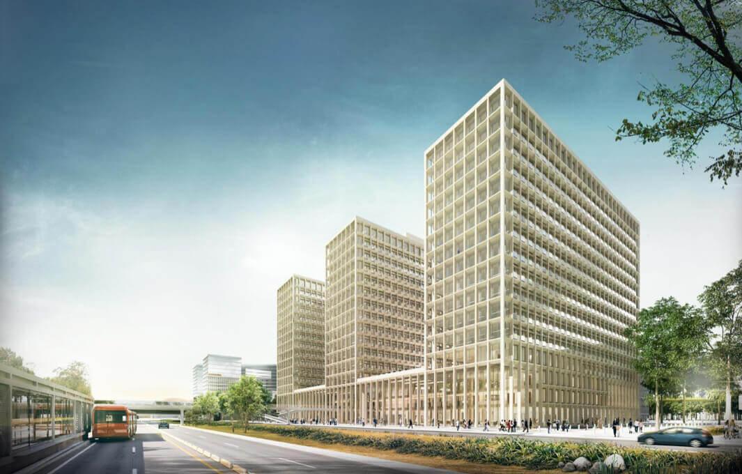 edificio de renovación Ciudad CAN