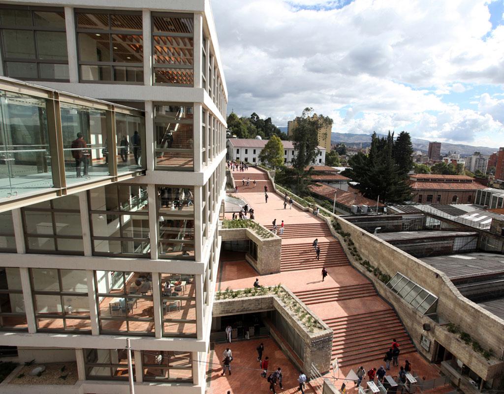 Imagen del campus de la Universidad de los Andes.
