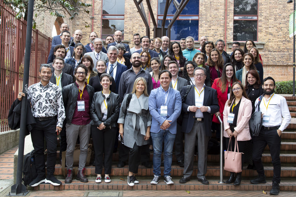 Foto de los participantes en el taller