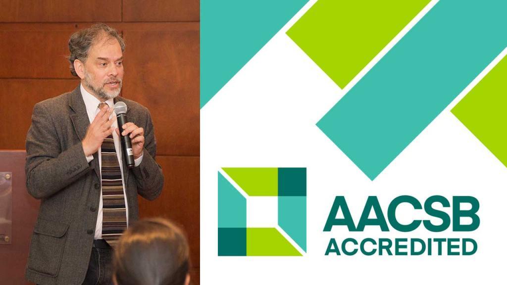 El docente de Los Andes fue a la siguiente versión de AACSB como moderador de uno de los paneles.