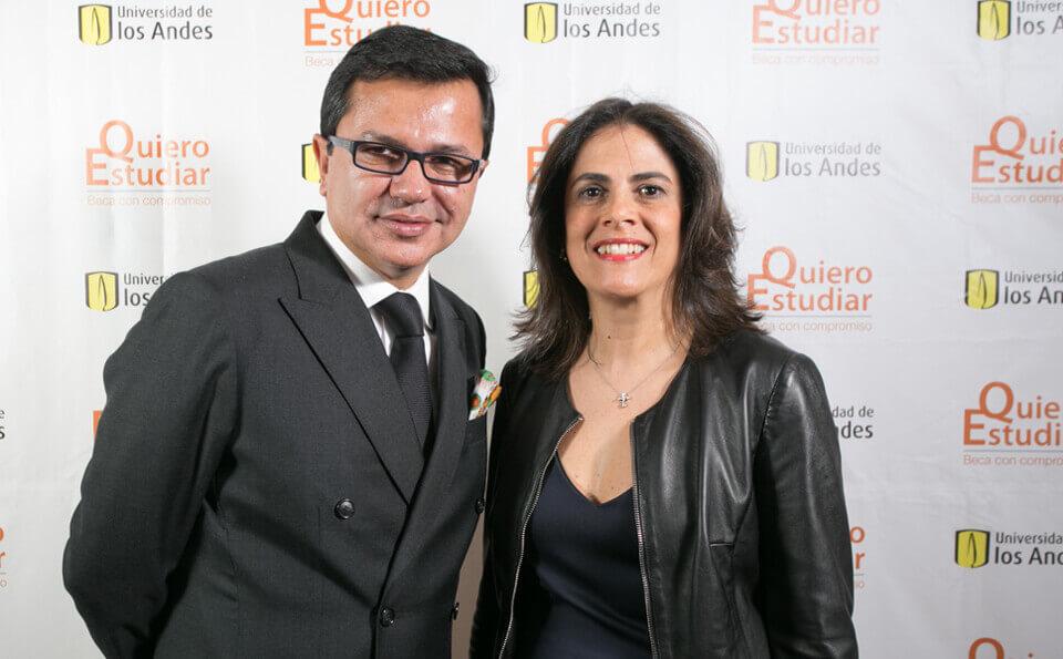 Rodrigo Pacheco y Ana María Lleras