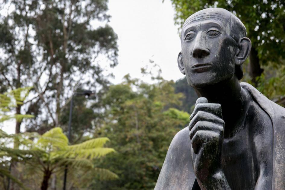 Foto de la Estatua de San Alberto Magno