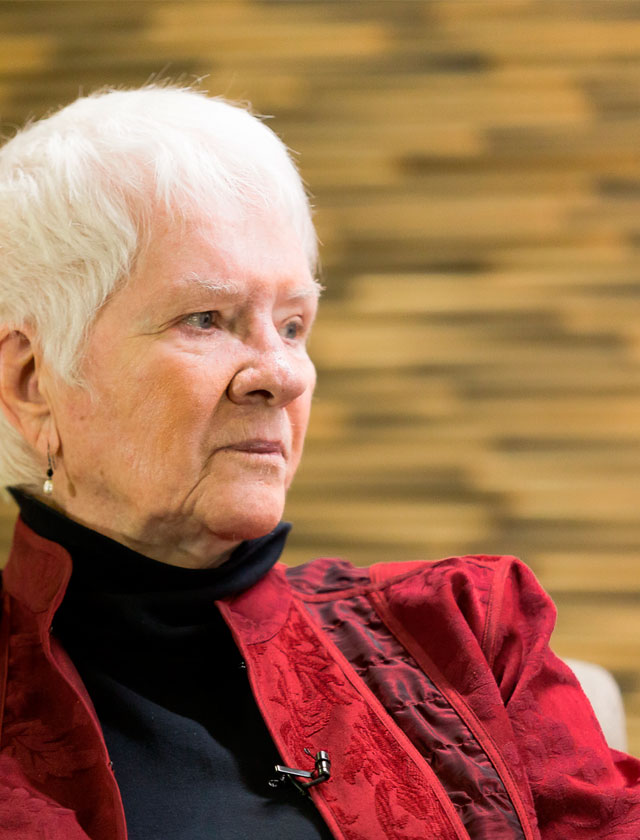 Sandra Harding in the Universidad de los Andes