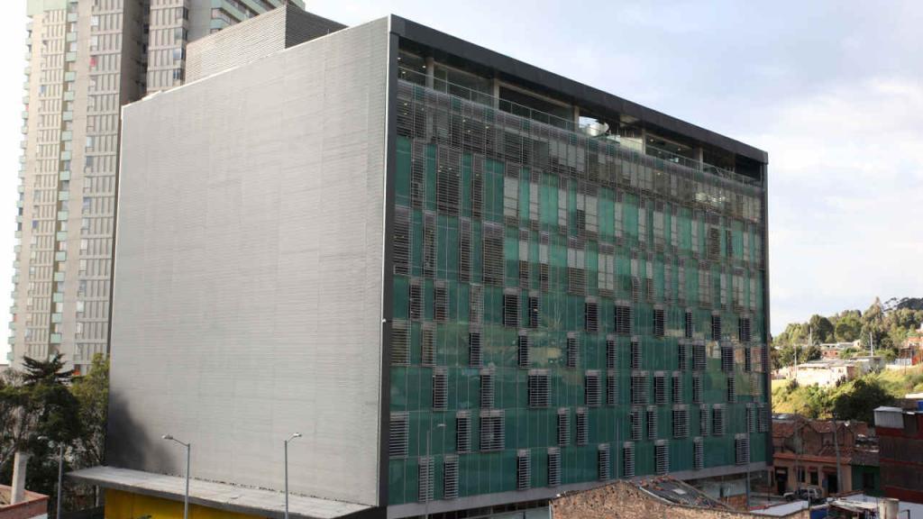 Edificio Santo domingo, donde funciona la facultad de Administración de Los Andes.
