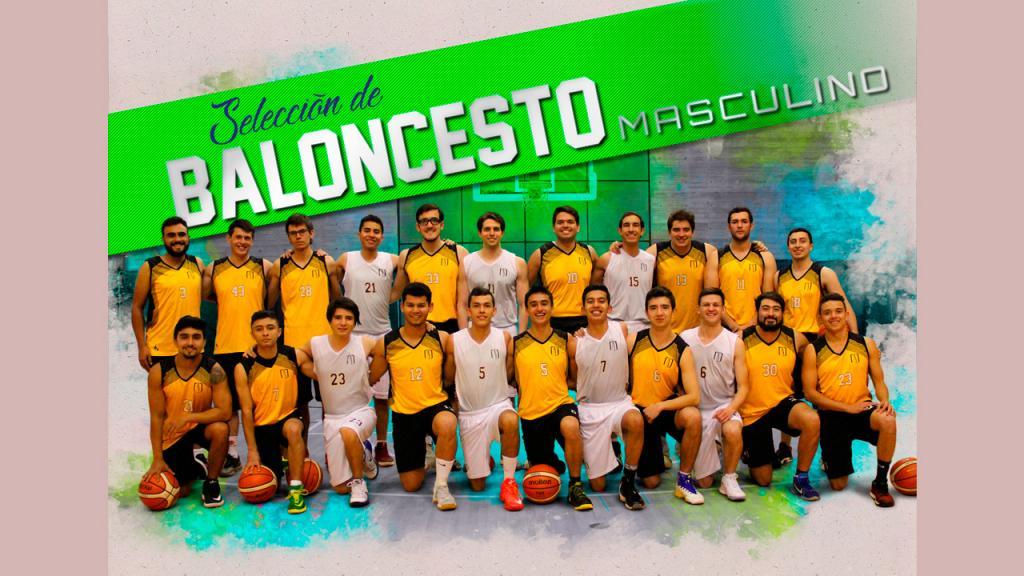 Selección de baloncesto Masculino Uniandes