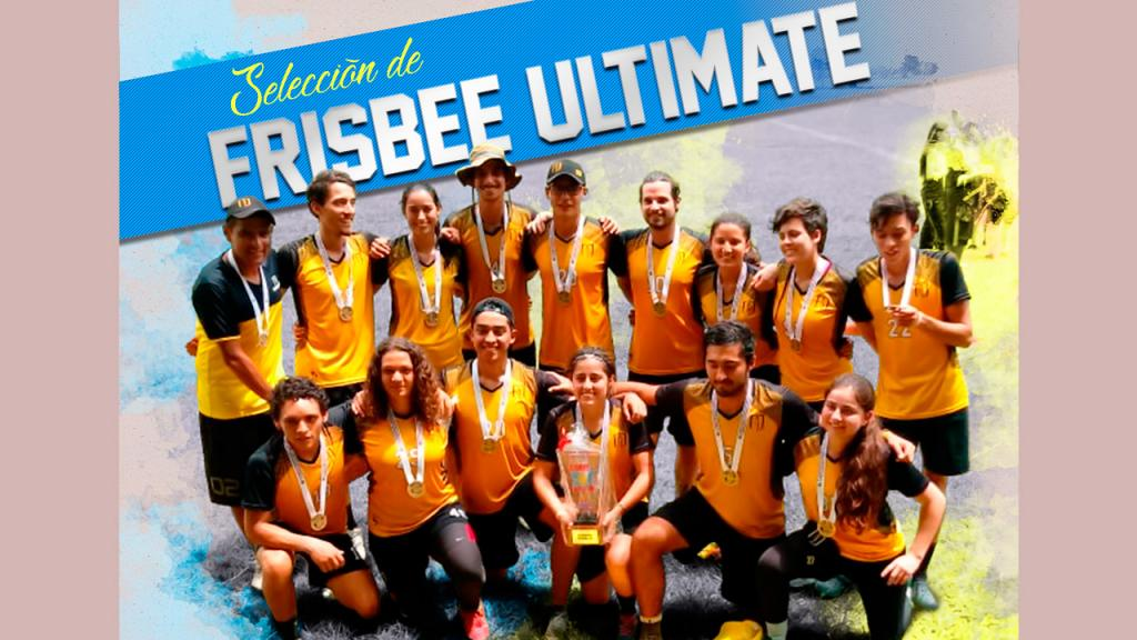 Selección de Frisbee Ultimate Uniandes