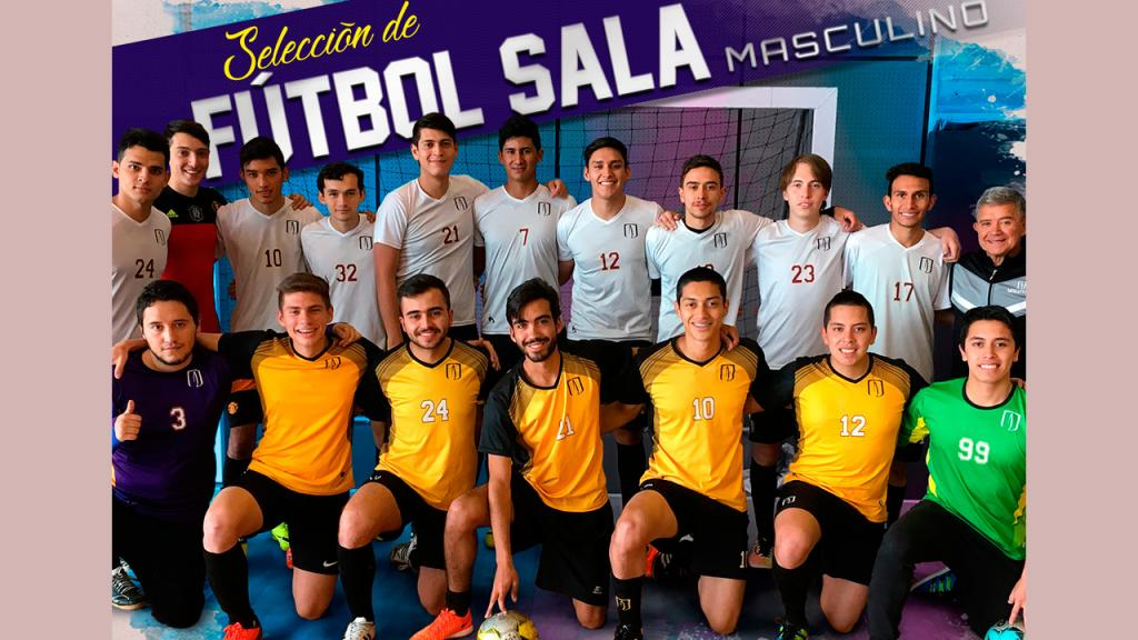 Selección Uniandes Futbol sala masculino