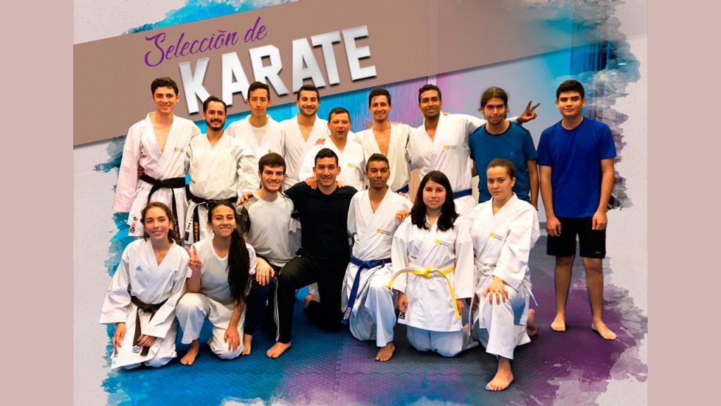 Selección Uniandes Karate
