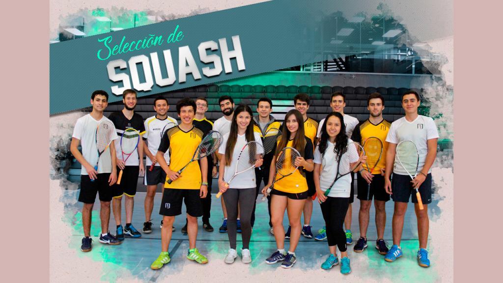 Selección Uniandes Squash