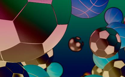Gráficos balones de fútbol