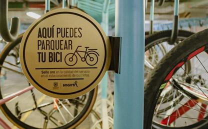 Biciparqueadero de la Universidad de Los Andes