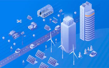 Ilustración de Edificios y penales solares
