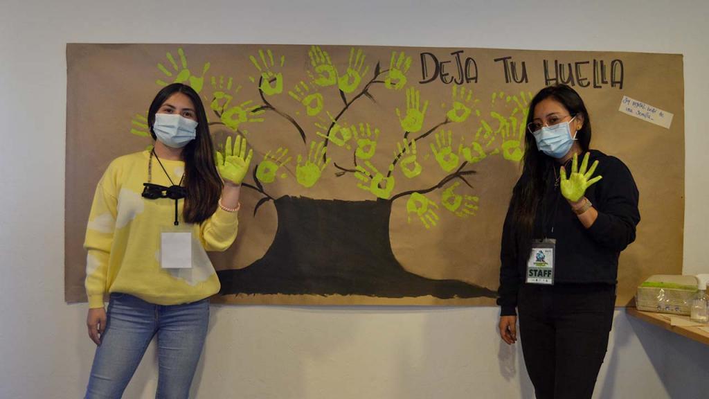 Foto de voluntarios durante la Sembratón en la Hacienda el Noviciado