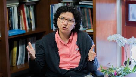 Silvia Restrepo, Vicerrectora de Investigaciones, Universidad de los Andes